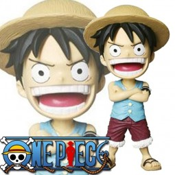 One Piece: Wackelkopf Figur Monkey D. Luffy
