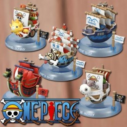 One Piece: Yurayura Piraten Schiff Collection 1 Box (6pcs)