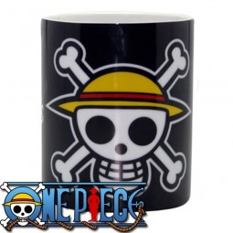 One Piece: Stohhutpiraten Logo Tasse