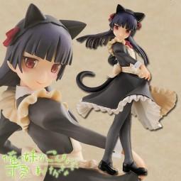 Ore no Imoto ga Konna ni Kawaii Wake ga Nai: Kuroneko Maid Ver. 1/8 Scale PVC Statue