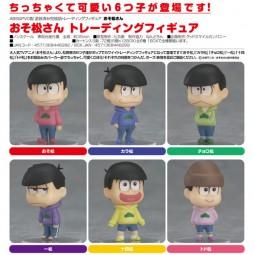 Osomatsu-san Mini-Figuren 1 Box (6pcs)