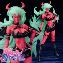 Panty & Stocking with Garterbelt: Scanty 1/8 Scale PVC Statue