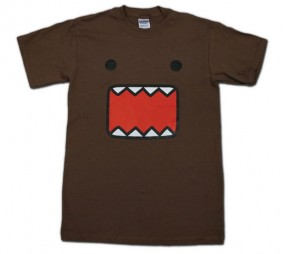 Domo-Kun: T-Shirt Face
