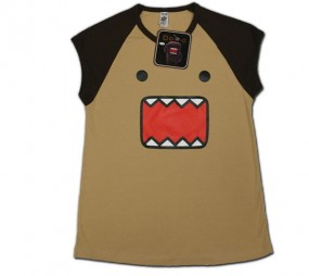 Domo-Kun: T-Shirt Face Damen