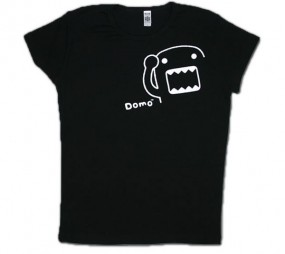 Domo-Kun: T-Shirt Outline Damen