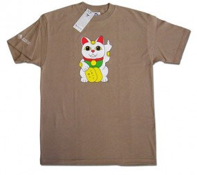 T-Shirt: Lucky Cat
