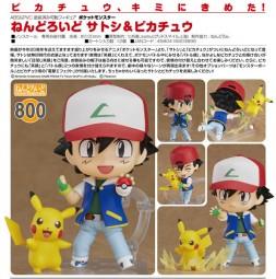 Pokémon: Nendoroid Ash & Pikachu