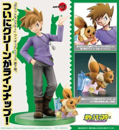 Pokémon: ARTFX-J Blue with Eevee 1/8 Scale PVC Statue