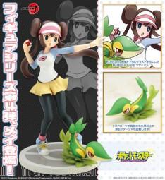 Pokémon: ARTFX-J Rosa with Snivy 1/8 Scale PVC Statue