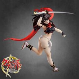 Queen's Blade Rebellion: Samurai of the War God Izumi - Excellent Model Core 1/8 Scale PVC Statue