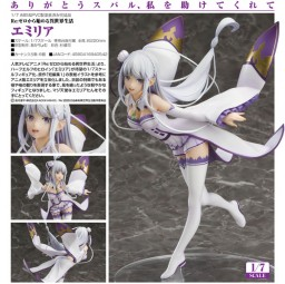 Re:ZERO -Starting Life in Another World: Emilia 1/7 Scale PVC Statue