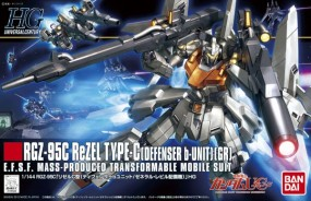 Gundam UC - HGUC RGZ-95 ReZEL Type-C Defenser B Unit GR 1/144