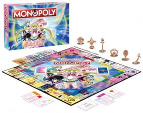 Sailor Moon: Monopoly Brettspiel *Deutsche Version*