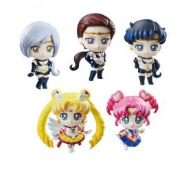 Sailor Moon: Petit Chara Pretty Soldier Sammelfiguren Sortiment