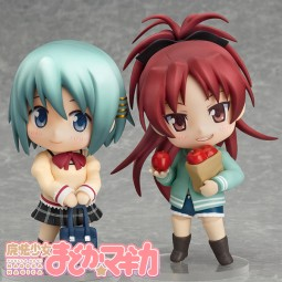 Puella Magi Madoka Magica: Sayaka Miki Unform Ver. & Kyoko Sakura Casual Ver Set Nendoroid