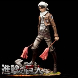 Shingeki no Kyojin: Levi Rivaille Cleaning Ver. 1/8 PVC Statue