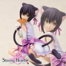 Shining Hearts: Mischievous Slinking Cat Xiao-Mei 1/6 Scale PVC Statue