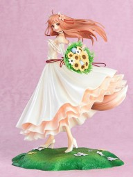 Spice and Wolf: Holo Wedding Dress Ver. 1/8 Scale PVC Statue