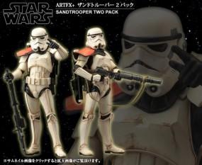 Star Wars: Sandtrooper Statuen-Doppelpack 1/10 ARTFX Statue