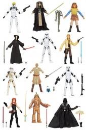 Star Wars: Black Series 2013 Wave 3 Actionfiguren 12 Stück