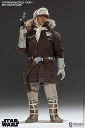 Star Wars: Commander Captain Han Solo Hoth 1/6 Scale Action Figure