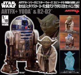 Star Wars: Yoda & R2-D2 Dagobah Ver. 1/10 ARTFX Statuen Doppelpack