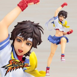 Street Fighter: Sakura 1/7 Scale PVC Statue
