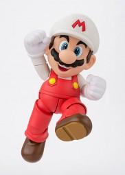 Super Mario: S.H.Figuarts Fire Mario Actionfigur