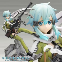 Sword Art Online II: Sinon Phantom Bullet 1/8 Scale PVC Statue