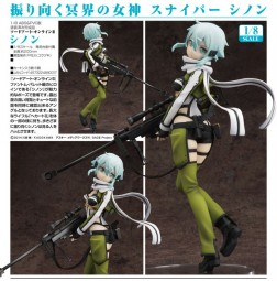 Sword Art Online:Sinon 1/8 Scale PVC Statue