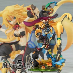 The Witch and the Hundred Knight: Swamp Witch Metallica 1/8 PVC Statue