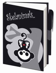 Skelanimals Notizbuch A7 mit Stift