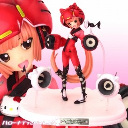 Together with Hello Kitty!: Iroha Nekomura Vocaloid2 Ver. non scale PVC Statue
