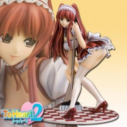 To Heart 2: Tamaki Kousaka Maid Lady Red Ver. 1/7 Scale PVC Statue