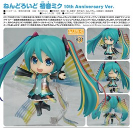 Vocaloid 2: Miku Hatsune 10th Anniversary Ver. - Nendoroid