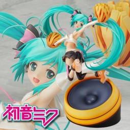 Vocaloid 2: Miku Hatsune Cheerful ver. 1/8 Scale PVC Statue